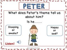 Peter and the Wolf - 42 pages!  Preview at: https://www.teacherspayteachers.com/Product/Peter-and-the-Wolf-123004         #musedchat      #musiceducation