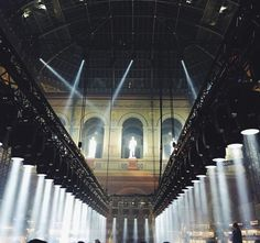 Classic setting with modern technology at Lanvin  SS 2015