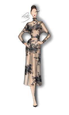 #fashionillustration #fashion #fashionsketches #jacodybullard @jacodybullard