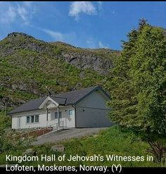 Kingdom Hall in Norway.