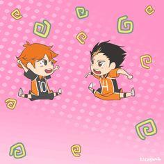 Bouncing Hinata & Nishinoya