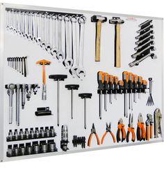 painel completo c/ ferramentas convencionais - moto - galmar