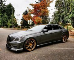 Mercedes-Benz AMG E550 #grey