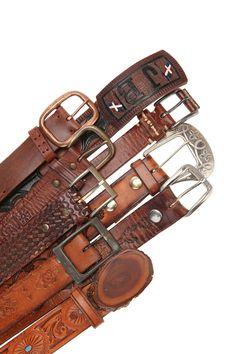 Western Leather Belts