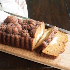 www.nordicware.com recipe pumpkin-loaf-with-cream-cheese-swirl ?utm_source=Newsletter&utm_medium=Email&utm_campaign=Halloween+Recipe+Email