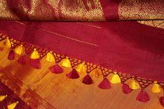 kanchivaram silk saree tassels/ kuchu