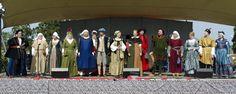 Hämeen keskiaikamarkkinat - Häme Medieval Faire 2013, Muotinäytös - Fashion Show, © Heikki Haavisto