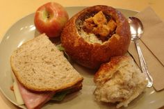 It's actually impossible to pass a Panera Bread without salivating