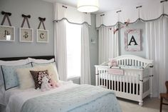 Toddler and Baby Shared bedroom