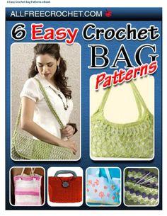 6 easy crochet bag patterns e book