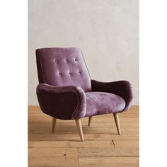Anthropologie Slub Velvet Losange Chair ($1,198) ❤ liked on Polyvore featuring home, furniture, chairs, mauve, handcrafted furniture, hand carved chair, velvet furniture, handmade furniture and hand made furniture
