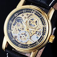 Men's Automatic Self Wind Analog Hollow Engraving Skeleton Watch Save up to 80% Off at Light in the Box with Coupon and Promo Codes.