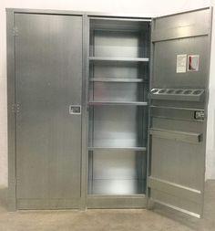Steel Storage Cabinet With Doors