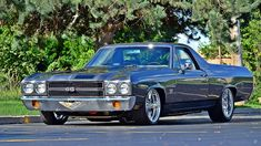 American Muscle Cars… 1970 Chevrolet El Camino SS 396