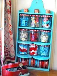So many uses for those Bonne Maman jars!