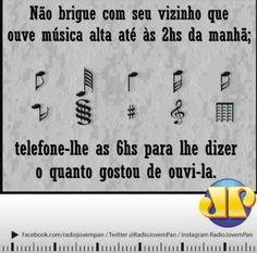 Mas se não soubermos o telefone do vizinho, colocamos a mesma música. para ele acordar com uma linda melodia.