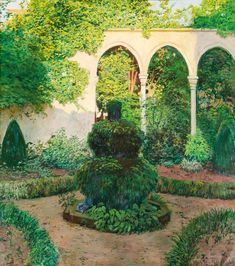 Color & Light - Santiago Rusiñol - Villa Aldobrandini ...