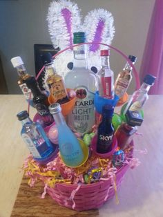 Your husband needs an easter basket here are some ideas to fill my easter basket was given to me by my husband for giving up alcohol negle Images