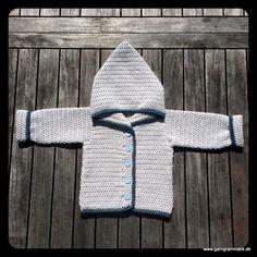 Baby hættetrøje med knapper_14