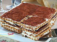 No Bake Desserts, Easy Desserts, Dessert Recipes, Sweet Cookies, Sweet Treats, Appetizer Buffet, Italian Cake, Dessert For Dinner, Sweet And Salty