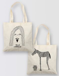 Billy Connolly High Horse Tour 2015 tote bag Billy Connolly, High Horse, Reusable Tote Bags, Horses, Closet, Fashion, Moda, Armoire, Fashion Styles
