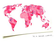 I think the earth would be better in PINK!  :)