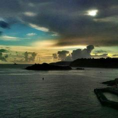 #Plymouth #plymouthsound #sunset #sea