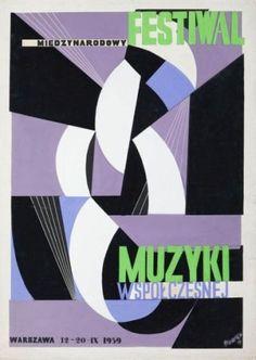 Tadeusz Gronowski 1959 International Contemporary Music Festival