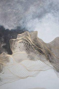 "Saatchi Art Artist Tracie Cheng; Painting, ""Storm at Sea"" #art"