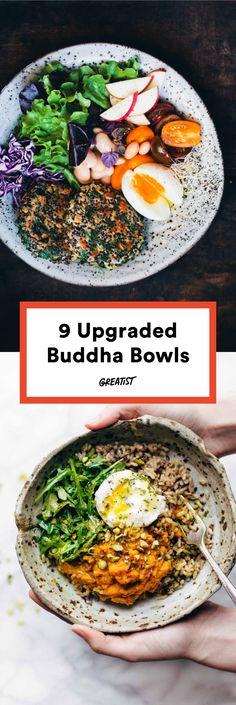 Buddha, Buddha, Buddha, Buddha, rockin' everywhere. #greatist https://greatist.com/eat/buddha-bowl-recipes