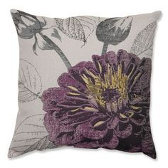purple and yellow throw pillows - Google Search