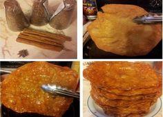 Buñuelos con miel de piloncillo