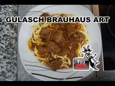 Brauhaus Gulasch selbstgemacht