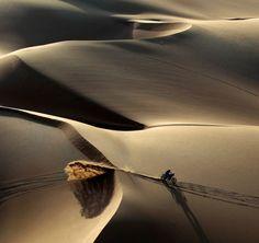 Faszinierende Sanddünen gibts in Teilen der Rally Dakar 2013 auch.