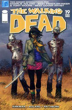 Walking Dead #19-15th Anniversary Custom Reprint 1st Michonne