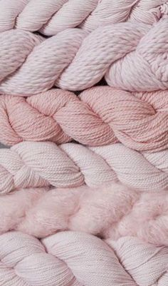 Pink Blue Sky Fibers yarn options.