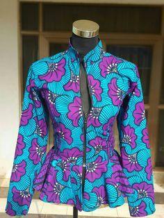 African print top ankara shirt ~African fashion, Ankara, kitenge, African women dresses, African prints, African men's fashion, Nigerian style, Ghanaian fashion ~DKK
