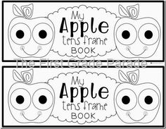 Freebie! My Apple Tens Frame Book