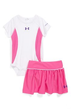 Under Armour Bodysuit & Skirt (Baby Girls) available at #Nordstrom