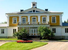 Törnävän kartano Seinäjoella - Törnävä manor in Seinäjoki built in Mansion Houses, Country Estate, Finland, Buildings, Castle, Villa, Around The Worlds, Exterior, Mansions