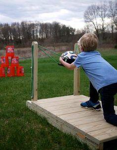 How To Make a Backyard Slingshot