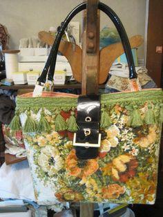 bag 3 is made of Barkcloth