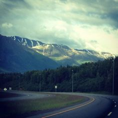 Eagle River Alaska - this is my drive home somedays. :)