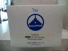▐  saurer  TEK-HOBY •♥• Saurer 3CT1D Feuerwehr Basel 1:50 - Argovia - tutti.ch Basel, Paper Shopping Bag, Trucks, Fire Department, Rolling Stock, Truck, Cars