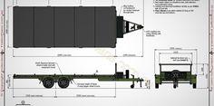 6m Flat Top Trailer Plans, Flatbed Trailer, Car Trailer www.trailerplans.com.au