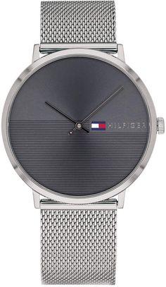 e1176ac972a Tommy Hilfiger Men s Stainless Steel Mesh Bracelet Watch 40mm