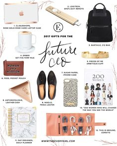 The Everygirl 2017 Holiday Gift Guide for the Future CEO