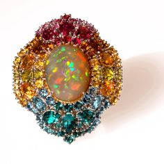 Multi-Colour Gemstone Jewellery - -