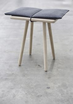 "stool called ""Georg"" by designer Cristina Liljenberg Halstrøm for the Danish brand Triptrap (Triptrap.dk)"