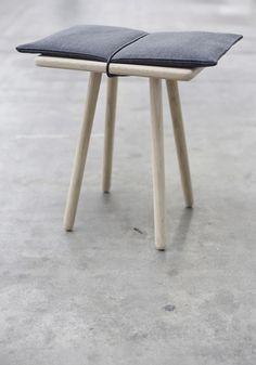 """stool called """"Georg"""" by designer Cristina Liljenberg Halstrøm for the Danish brand Triptrap (Triptrap.dk)"""